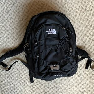 Like New! North Face Isabella Black Backpack